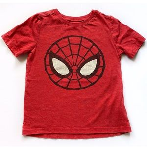 Old Navy Spider-Man Graphic T-Shirt Size 4T